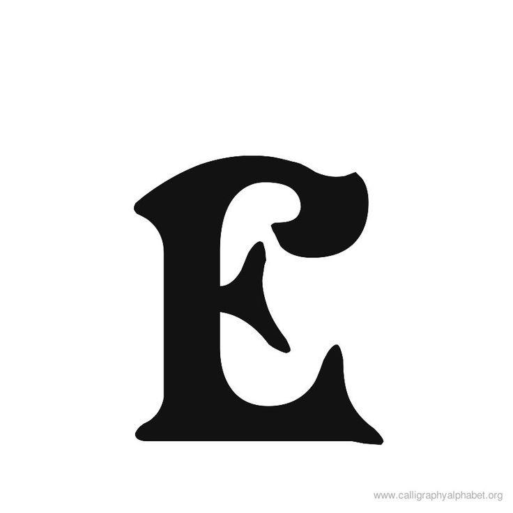 Letra -e