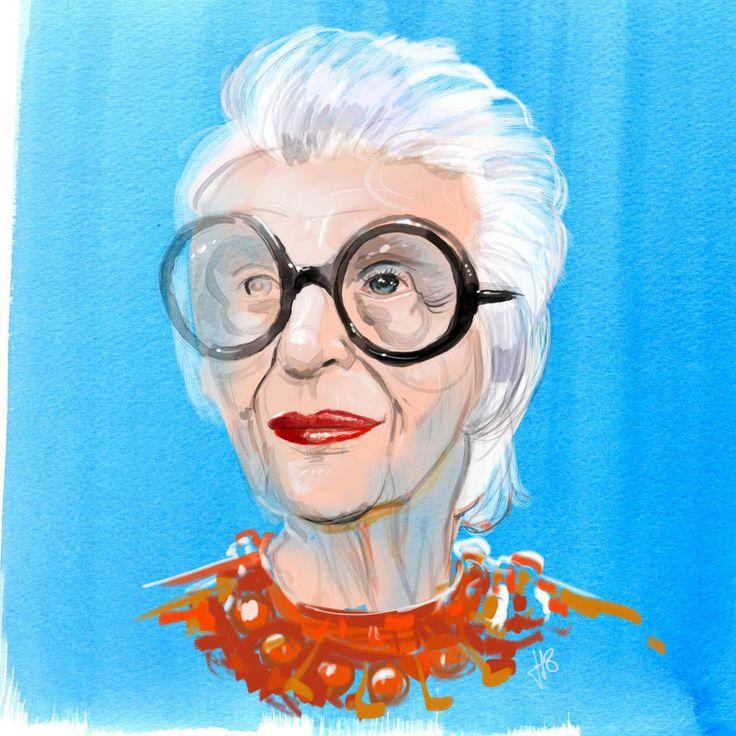 Iris Apfel (94) - Hilbrand Bos