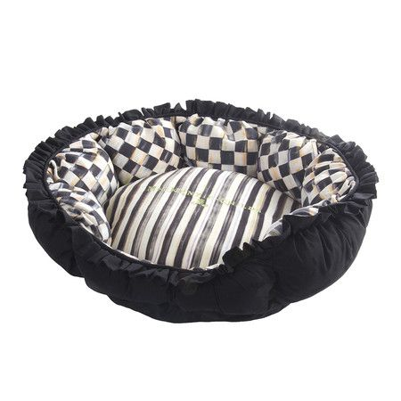 MacKenzie-Childs - Courtly Check Pet Pouf  So cute.