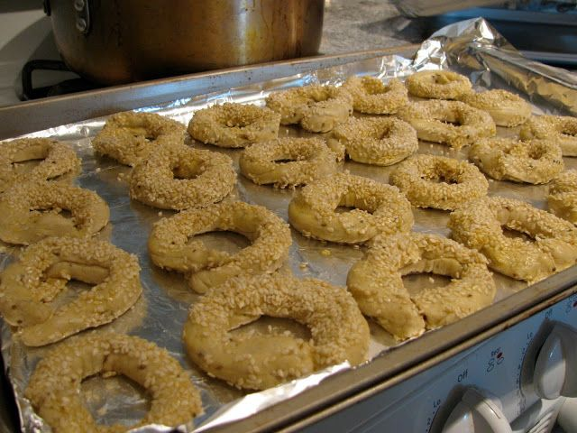 Kaak, or Syrian Bread Sticks - the kosher foodies's  classic recipe