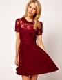 ASOS Lace Shirt Dress With Peterpan Collar. I LOVE this dress!