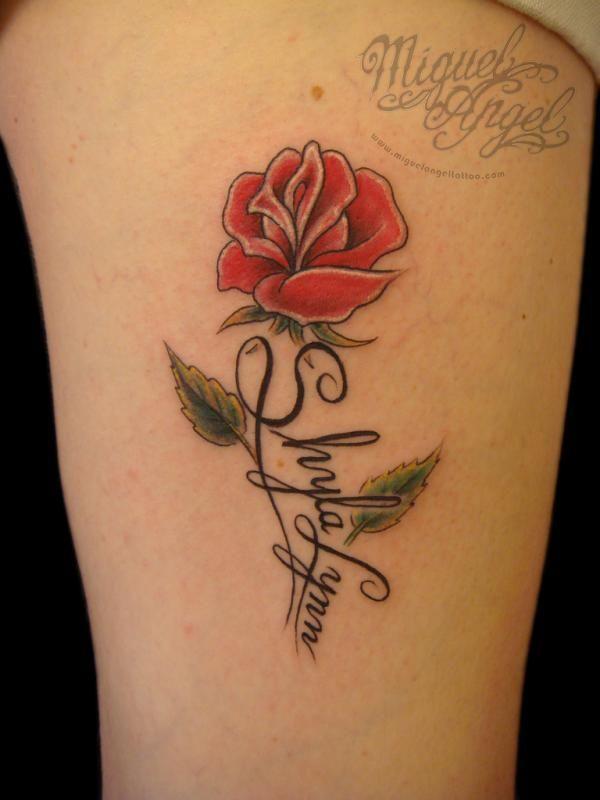 Cheap custom writing tattoo