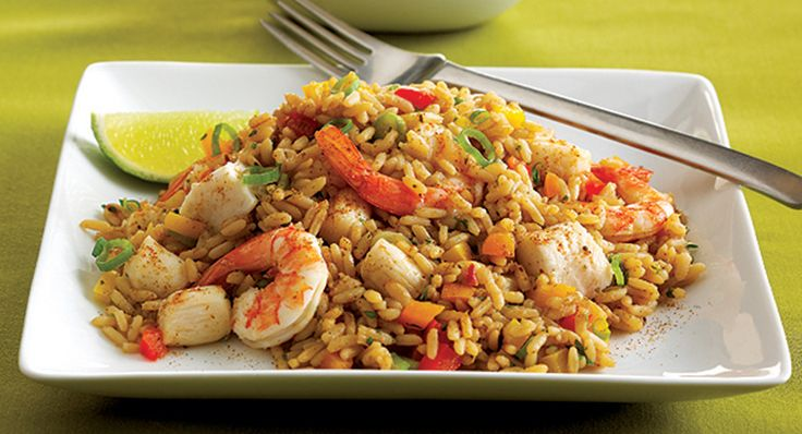 Keep some frozen shrimp in the freezer and Zatarain's Dirty Rice Mix in the pantry, and you can have this delicious meal at a moment's notice.
