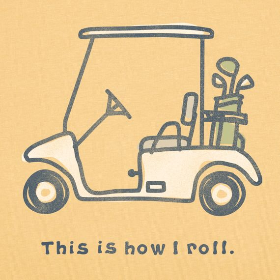 """""""Men's This Is How I Role Short Sleeve Crusher Vee 
