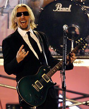 Nickelback . . . here he Rocks