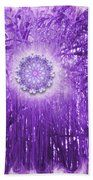 Spirit And Nature In Purple Hand Towel by Jodi DiLiberto