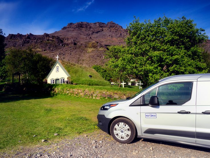Iceland Mini Campers Best and most affordable campervan rental in Iceland. #camper, #iceland, #minicamper, #carrental