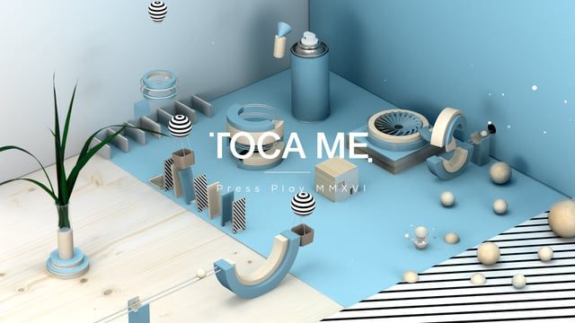 "Toca Me 2016 Opening titles by http://www.studioastic.com, http://www.thefinest.de & Paul Taylor  The TOCA ME conference in Munich showcases stunning digital, interactive, print, web and motion graphic designers since 2004. In 2016 we « studioastic, thefinest and Paul Taylor » had the honor to create the opening titles « PRESS PLAY » presenting  Hungry Castle Sarah Illenberger Tom Ising Matt Lambert Signalnoise Gavin Strange  ""We had a blast creating all the different sets in rea..."