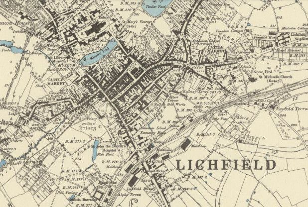 DETAILED maps that offer a fascinating glimpse into how Lichfield developed from Victorian times to the 1950s are now available free online.  Images show a thriving Lichfield city centre in the late...