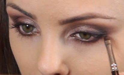 Picture from my newest Valentine's Day makeup tutorial video on youtube: http://youtu.be/kQQCii6HYRw #valentinesday #makeup #video #tutorial #youtube