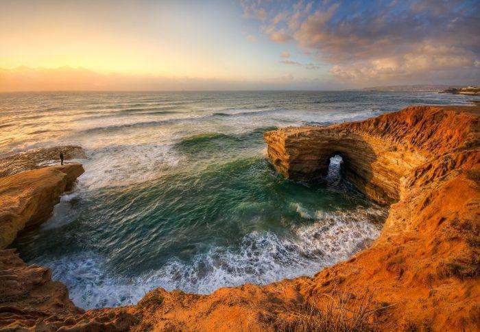 2. Sunset Cliffs Beach Walk