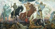 The Four Horsemen of the Apocalypse, 1887  by Viktor Vasnetsov