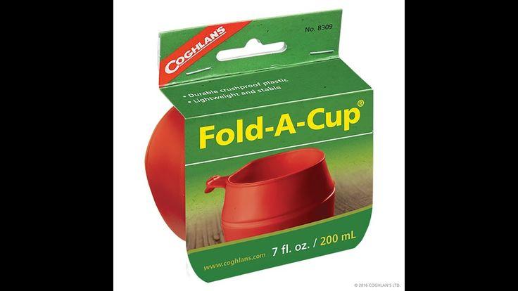 Fold a cup Coghlan´s, taza plegable