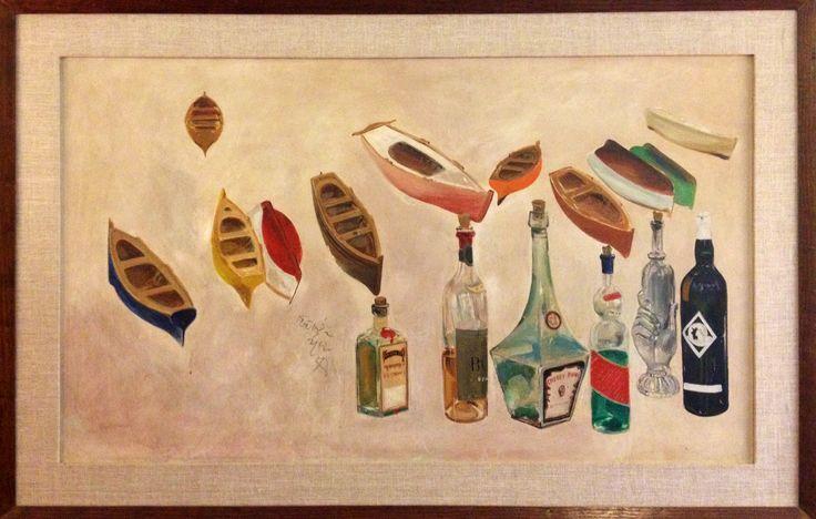 Bottles and boats / Μπουκάλια και βάρκες