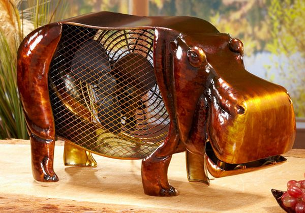 11 Rustic Animals Disguised as Fans, Because Inanimate Objects Should Keep You Cool