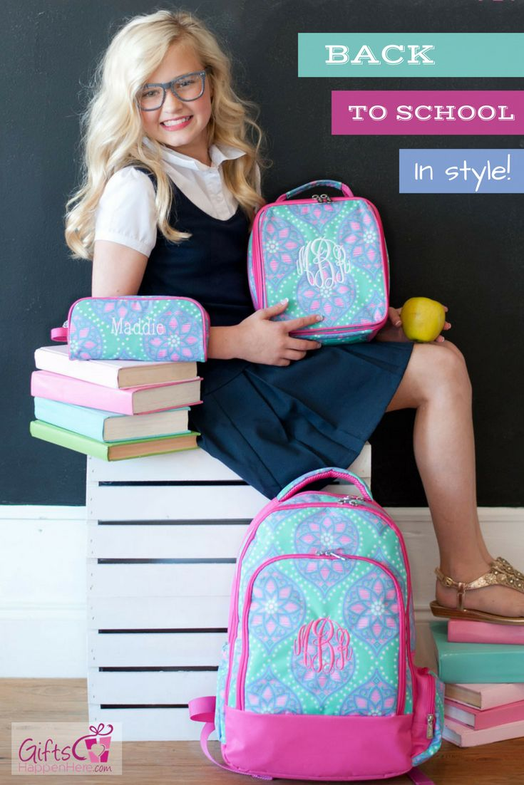 Send her back to school in style! Personalized Backpacks, Lunch boxes, and pencil cases in cute patterns for kids! Shop at https://www.giftshappenhere.com/collections/occasion-back-to-school - Personalized Backpack / Monogrammed Backpack / Personalized Backpacks/ Monogrammed Backpacks / Backpacks for teens / Kids Backpack / Back to School / Backpacks for School / Backpack for Kids / Backpack Kids Girl / Paisley Backpack / Boho Backpack / Paisley Backpacks / Paisley Bookbag / Paisley Bookbags