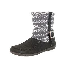 Foamtreads™ Sheba Boot Slipper