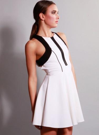 Scuba Skater Dress #fashion #mintymeetsmunt #MMM #goshcelebrity #style #spring #summer #dresses #shop #online