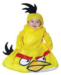 En colère oiseaux oiseau jaune bébé Costume - oiseaux en colère Costumes