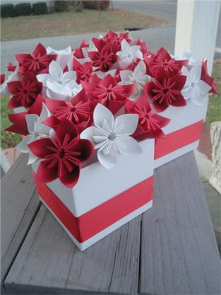 Favor Boxes #Origami #Wedding