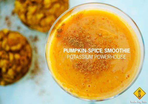Recipe: pumpkin spice smoothie | Clean Eating | Pinterest