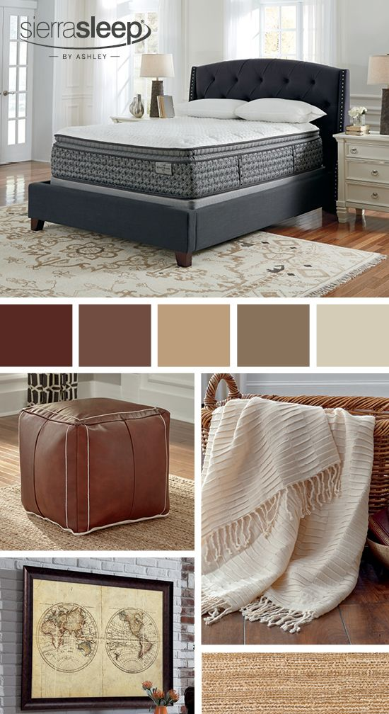 Mt Rogers Ltd Pillowtop Queen Mattress Set Sierra Sleep By Ashley Bedroom Furniture And