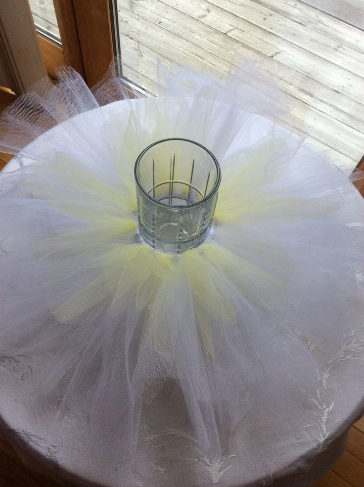 Tutu Centerpiece Ring For Baby, Bridal Or Wedding By LillyJake On Etsy