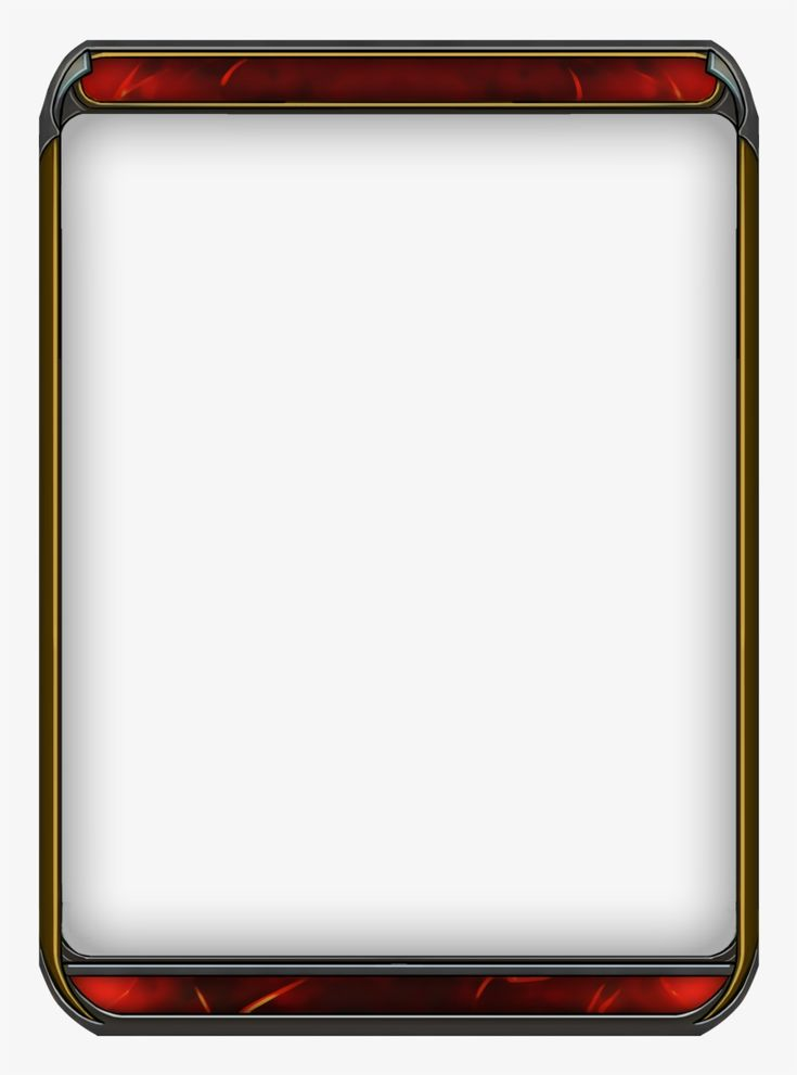 Free template blank trading card template large size