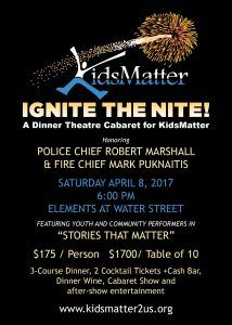 Ignite the Nite ~ A Dinner Theatre Cabaret for KidsMatter @ Elements on Water Street | Naperville | Illinois | United States