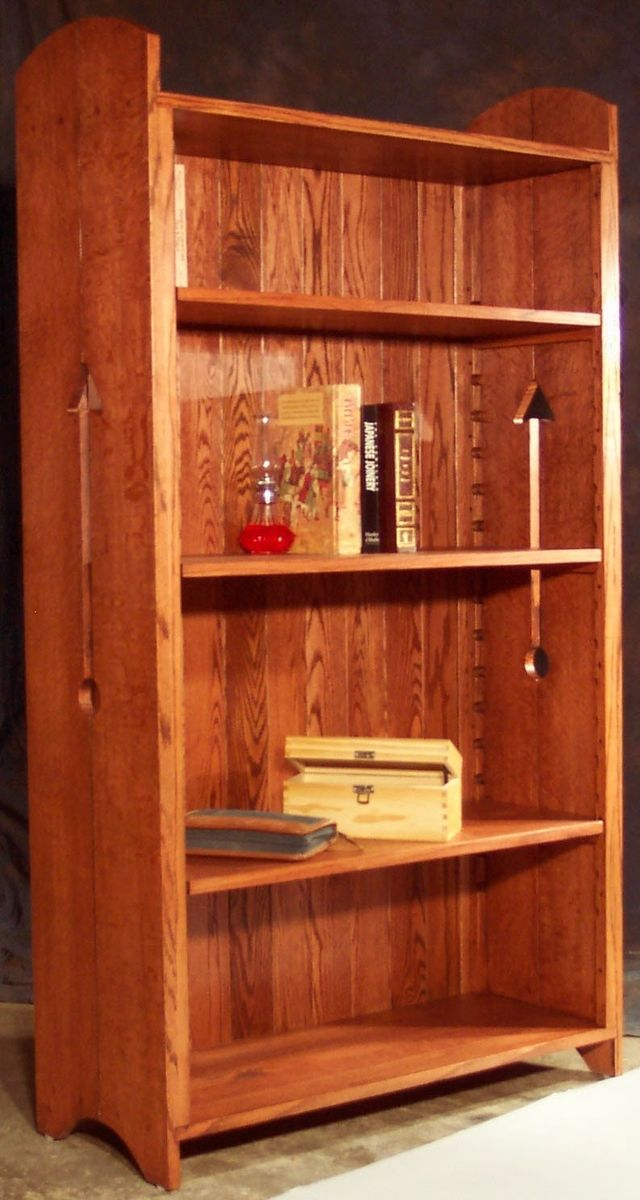 Craftsman Style Bookcase Plans Woodworking Projects Amp Plans