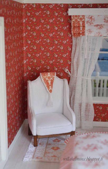Маленькая принцесса кукольный дом Вилла Helmiina/домик для моей маленькой принцессы: легкое кресло/легкое кресло