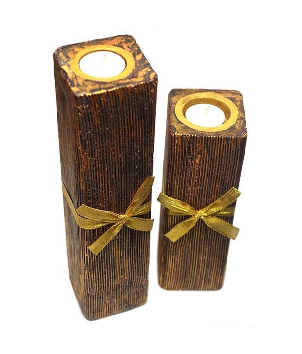 Anargha Enigma Square With Tealight Candle - Set Of 2, http://www.snapdeal.com/product/anargha-enigma-square-with-tealight/1118478514