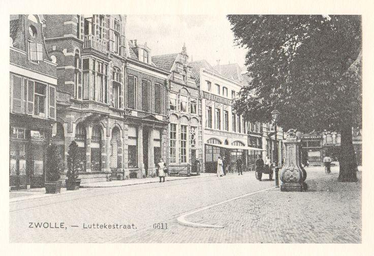 Zwolle, Luttekestraat.