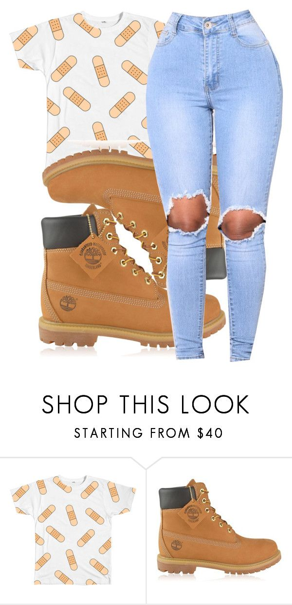 """""""Untitled #146"""" by dejanioque0225 ❤ liked on Polyvore featuring Timberland"""