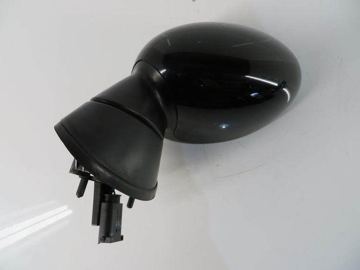 2002-2008 Mini Cooper Left Side View Mirror Black 17 51167192469 R50 R52 R53