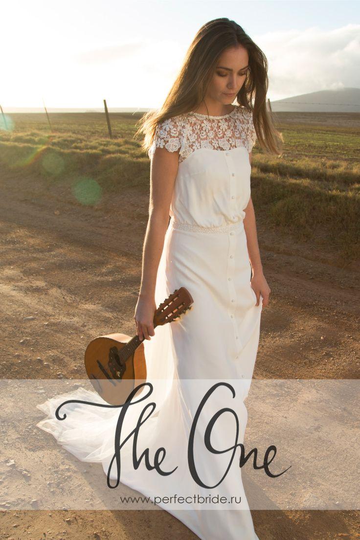 Эксклюзивное свадебное платье в стиле хиппи 2015 Joya от Rembo Styling