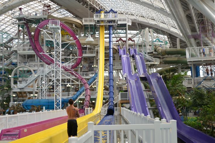 West Edmonton Mall Waterpark In Canada Pinterest