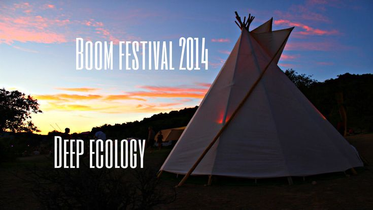Eco-housing, sustainability and deep ecology – Boom festival 2014