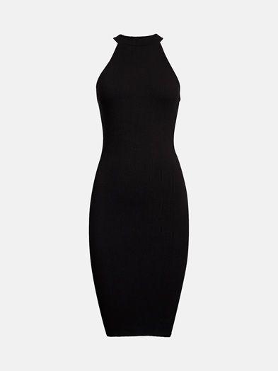Cany dress | 7174464 | Sort | BikBok | Norge