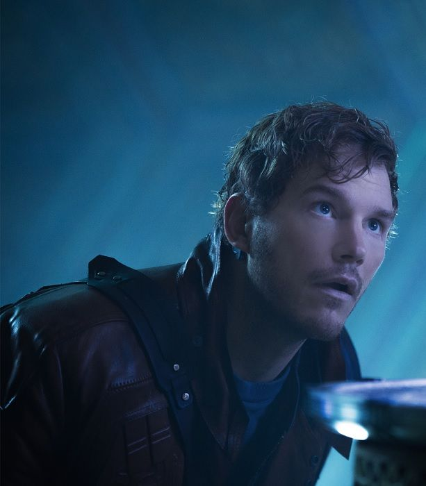 Star Lord- Chris Pratt- I'd like to paint this... And one of him as shirtless Star Lord.