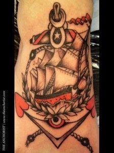 Tatuagens de âncoras (53)