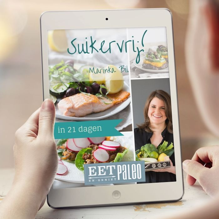 Voor eens en altijd van je suikerverslaving afkicken? EetPaleo Suikervrij helpt je erbij, inclusief maaltijdplannen en boodschappenlijsten.  http://www.eetpaleo.nl/eetpaleo-suikervrij/