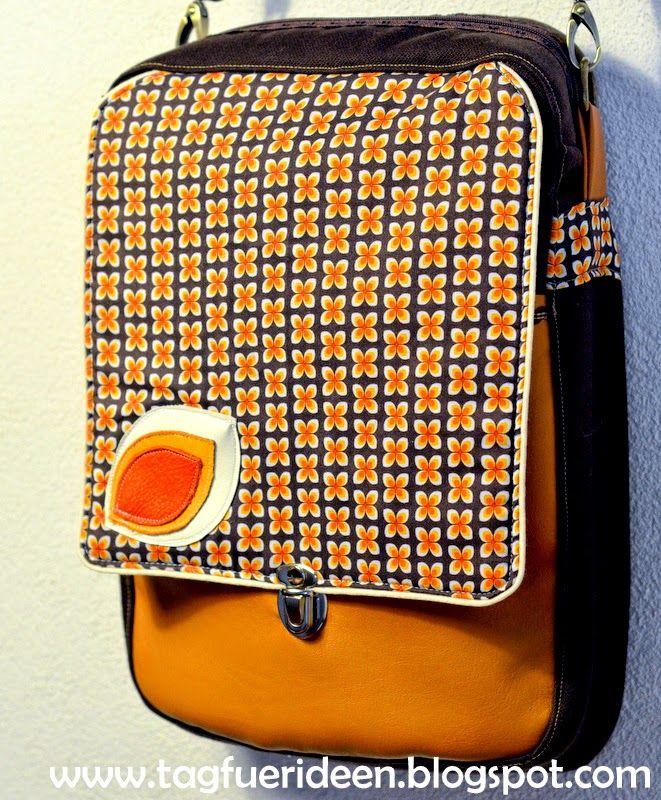 Taschenspieler II Sew Along: Die Herrentasche
