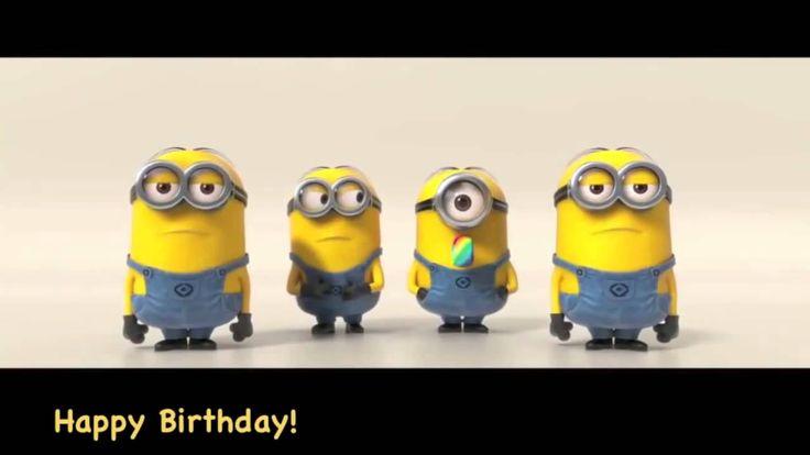 Minions Sing Happy Birthday 1