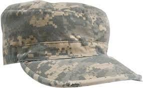 ACU Digital Camouflage - Army Vintage Fatigue Cap - Army Navy Store