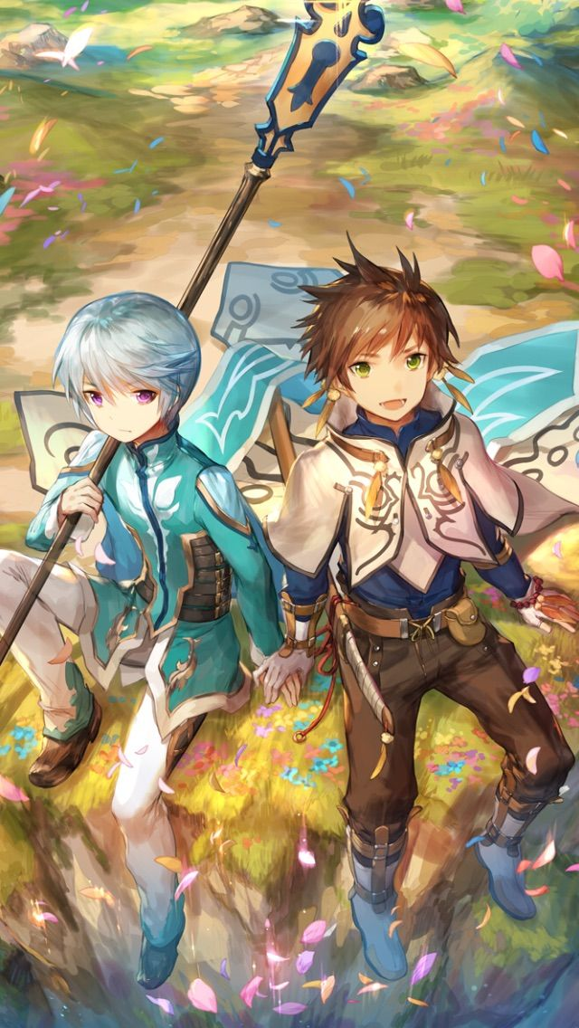 Pin By Thanyaporn Pakpark On Phone Wallpapers Tales Of Zestiria Tales Of Vesperia Anime