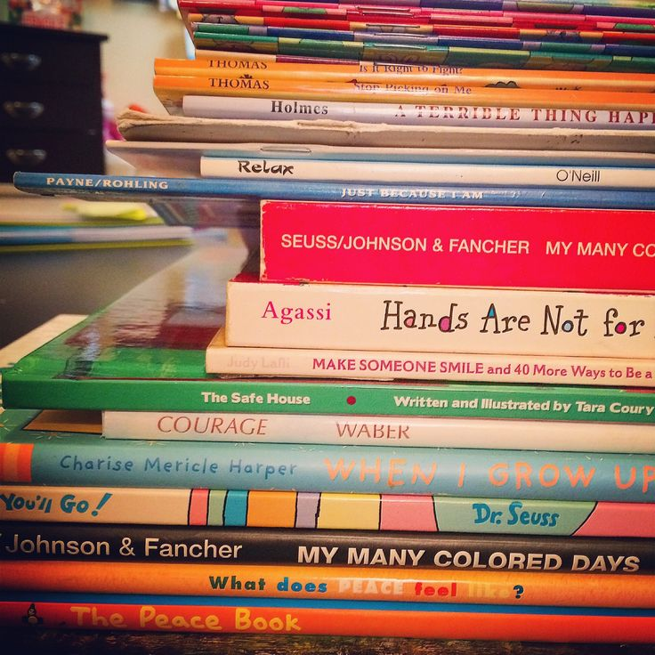 As part of my ongoing re-organizing and inventorying of my work & creative space, I spent some time going through my collection of children's books that I commonly use in group work (as well as...