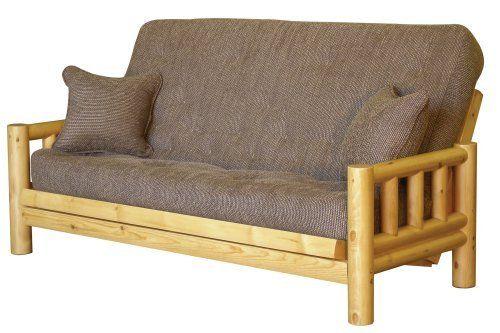 Big Tree Furniture Tahoe Full Size Futon Sofa Sleeper Set
