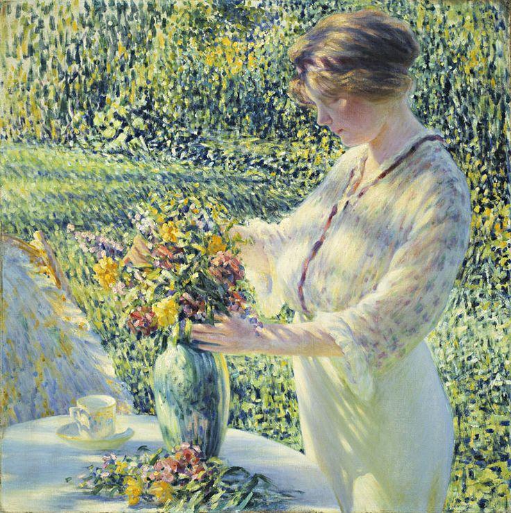 "Mary Cassatt ~ ""The Cup of Tea"""