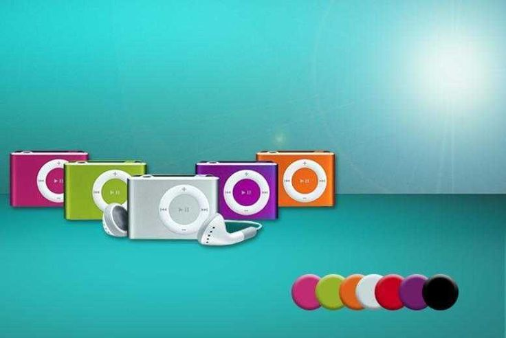 Shuffling 8GB MP3 Player with Earphones - 7 Colours